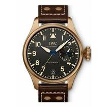 IWC Big Pilot Bronze 46.2mm Black Arabic numerals