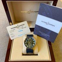 Ulysse Nardin Marine Chronometer 43mm Сталь 43mm Синий Римские Россия, Moscow
