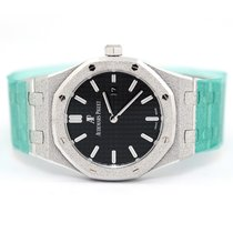 Audemars Piguet Royal Oak Lady White gold 33mm Black No numerals United States of America, Florida, Aventura