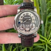 Montblanc Nicolas Rieussec Steel 43mm Silver United States of America, California, Los Angeles