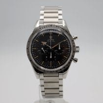 Omega Speedmaster Steel 38.6mm Black No numerals United States of America, California, Santa Monica