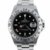 Rolex Explorer II Steel 40mm Black No numerals United States of America, Massachusetts, Boston