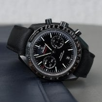 Omega Speedmaster Professional Moonwatch Cerámica 44.2mm Negro Sin cifras