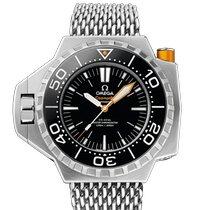 Omega Seamaster PloProf Titanium 55mm Black No numerals