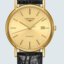 Longines Présence Steel 38.5mm Champagne No numerals United States of America, New York, Bellmore