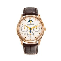Jaeger-LeCoultre Master Ultra Thin Perpetual Oro rosa 39mm Champán Sin cifras
