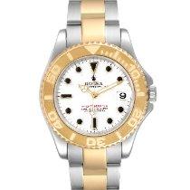 Rolex Yacht-Master 168623 Muy bueno Acero y oro 35mm Automático