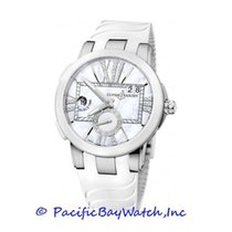 Ulysse Nardin Executive Dual Time Lady new Automatic Watch with original box and original papers 243-10-3/391