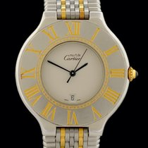 Cartier 21 Must de Cartier Gold/Stahl 35mm Silber Keine Ziffern Deutschland, Frankfurt am Main