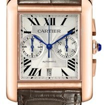 Cartier Tank MC Rose gold 44mm Silver Roman numerals United States of America, California, Moorpark