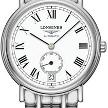 Longines Présence Steel 34.5mm White Roman numerals United States of America, California, Moorpark