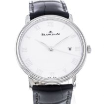 Blancpain Villeret Ultra-Plate occasion 40mm Date Cuir