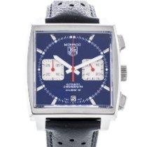 TAG Heuer Monaco Calibre 12 occasion 39mm Chronographe Date Cuir