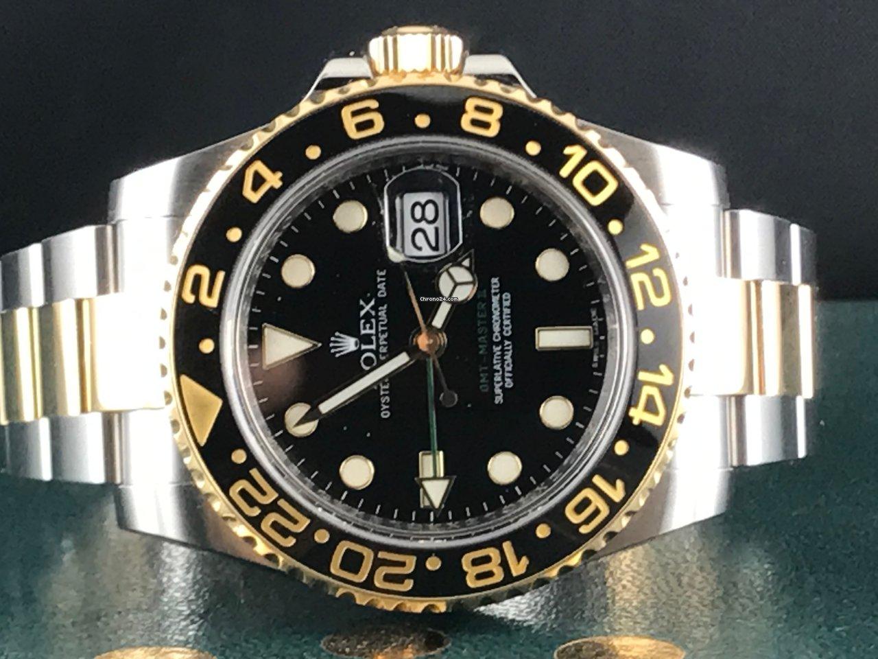 Rolex GMT-Master II 116713LN 2015 usato