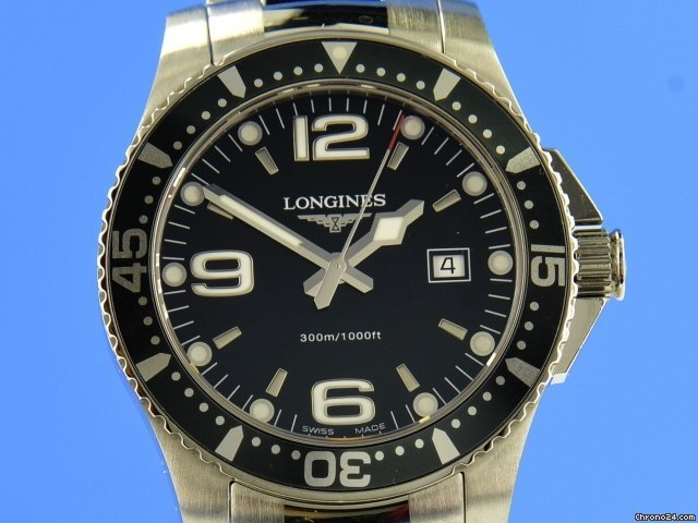 Longines HydroConquest L3.640.4 pre-owned