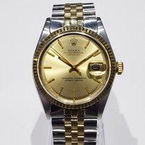 Rolex Datejust 1601 Muito bom Ouro/Aço 36mm Automático