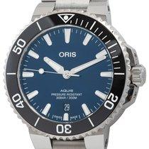 Oris Aquis Date Steel 43mm Blue United States of America, Texas, Austin