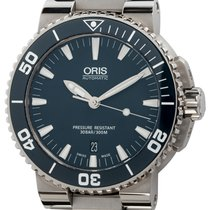 Oris new Automatic Display back Rotating Bezel Screw-Down Crown 43mm Steel