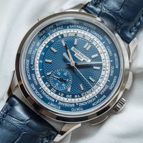 Patek Philippe World Time Chronograph 5930G-001 Very good White gold 39.5mm Automatic UAE, Dubai