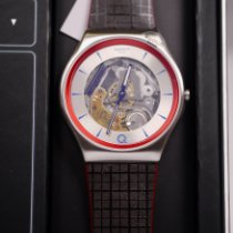 Swatch usato Quarzo 42mm Trasparente Plexiglas 3 ATM