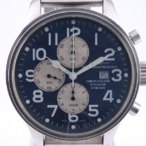 Zeno-Watch Basel Stahl 47mm Automatik 8557 gebraucht Deutschland, Braunschweig