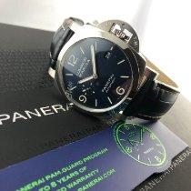 Panerai Luminor Marina neu 2021 Automatik Uhr mit Original-Box und Original-Papieren PAM 01313