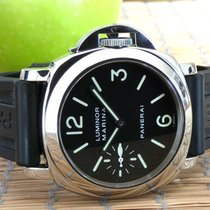 Panerai Luminor Marina Stål 44mm Svart Arabiska