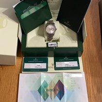Rolex Day-Date 36 White gold Silver