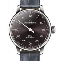 Meistersinger N° 02 new 2020 Manual winding Watch with original box and original papers AM6609N