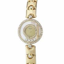 Chopard Happy Diamonds Yellow gold 24mm Champagne United States of America, New York, Massapequa Park