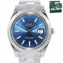 Rolex Datejust II Gold/Steel 41mm Blue United States of America, New York, Huntington