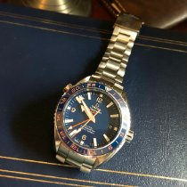 Omega Seamaster Planet Ocean Steel 43.5mm Blue Arabic numerals United States of America, Ohio, Rocky River