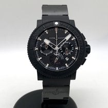 Ulysse Nardin Diver Black Sea Steel 46mm Black No numerals