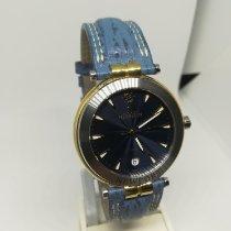 Michel Herbelin Newport (submodel) pre-owned 41mm Blue Leather