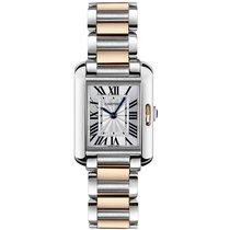 Cartier Tank Anglaise новые 2021 Кварцевые Часы с оригинальными документами и коробкой W5310036