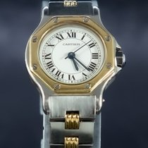 Cartier Damenuhr 30mm Automatik gebraucht Uhr mit Original-Box