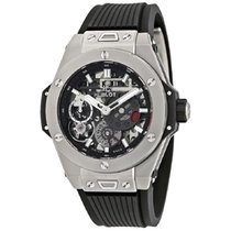 Hublot Acero Cuerda manual Gris 45mm nuevo Big Bang Meca-10