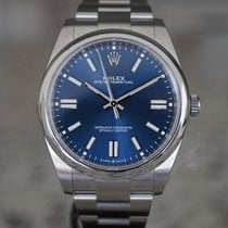 Rolex Oyster Perpetual Steel 41mm Blue No numerals United States of America, Massachusetts, Boston