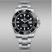 Rolex Acier Remontage automatique Noir Sans chiffres 40mm nouveau Submariner Date