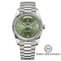 Rolex 228239 White gold 2017 Day-Date 40 40mm pre-owned United States of America, New York, New York