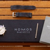 NOMOS Zürich Weltzeit Steel 39.9mm White No numerals United States of America, Connecticut, Stamford