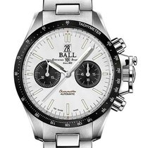 Ball Engineer Hydrocarbon Steel 42mm Silver No numerals United States of America, New Jersey, River Edge