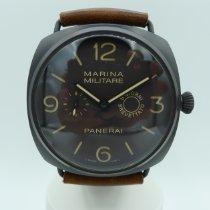 Panerai Ceramic Manual winding Brown Arabic numerals 47mm pre-owned