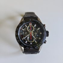 TAG Heuer CAR2A1Z-0 Steel Carrera Calibre HEUER 01 pre-owned