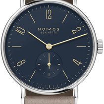 NOMOS Steel 35mm Manual winding 133 Sapphire Crystal Back new United States of America, New York, Airmont