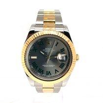 Rolex Datejust II Acero y oro 40mm Plata