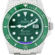 Rolex Automático Verde 41mm usados Submariner Date