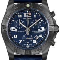 Breitling Titanium Quartz Blue Arabic numerals 43mm new Chronospace