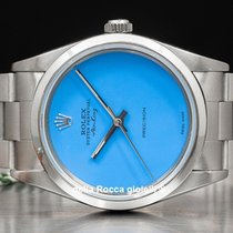 Rolex Air King Precision Acero 34mm Azul