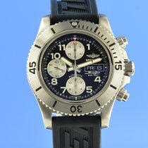 Breitling Superocean Chronograph Steelfish Сталь 44mm Черный